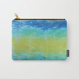Wave Tie Dye January Ocean Carry-All Pouch