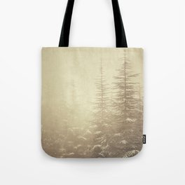 """Waiting for you...."" Mistery forest. Tote Bag"
