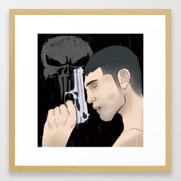 Jon Bernthal Punisher Framed Art Print