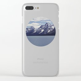 Grand Tetons: Colter Bay Clear iPhone Case