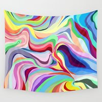 bath Wall Tapestries featuring bath bomb by sydneymadisonqueen