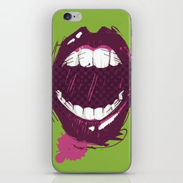 Zombie bites iPhone Skin
