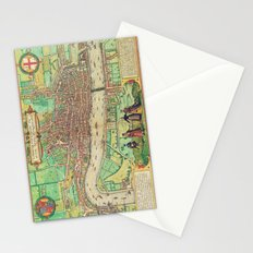 A Modern Map of London Stationery Cards