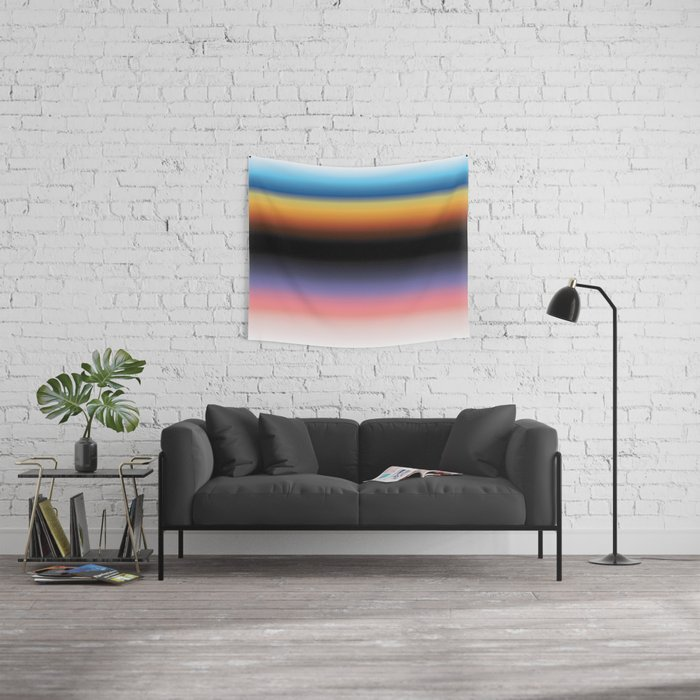 The Skys Colour Wall Tapestry