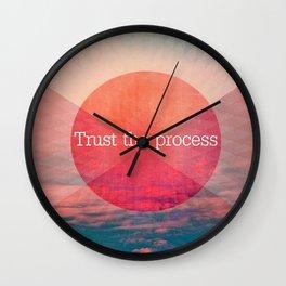 _TRUST THE PROCESS Wall Clock