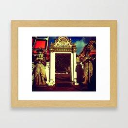 BANGKOK WITH LOVE Framed Art Print