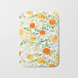 Orange You Happy Bath Mat