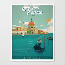 Vintage poster - Venice Canvas Print