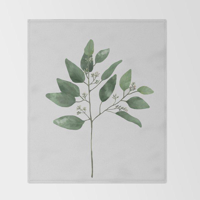Branch 2 Throw Blanket