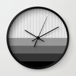 prugastim (black) Wall Clock