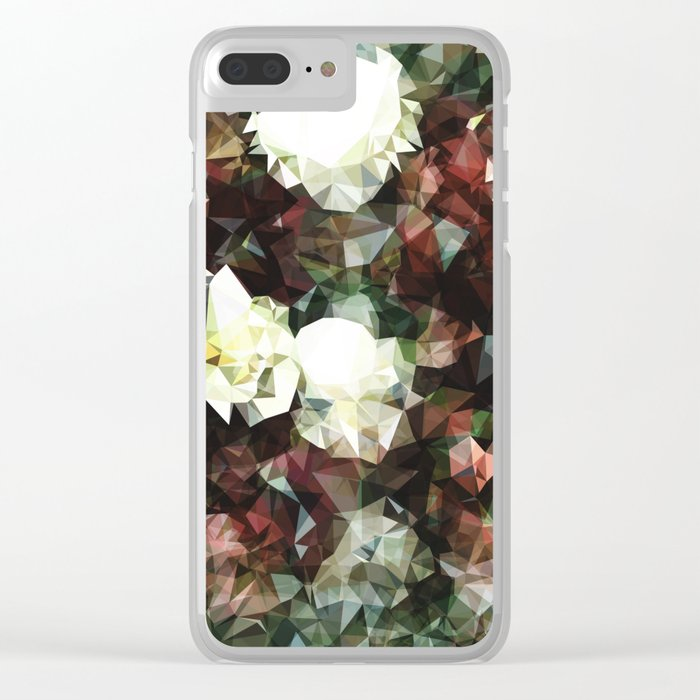 ROYAL FLOWER BOUQUET Clear iPhone Case