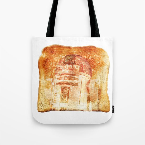 R2D2 toast Tote Bag