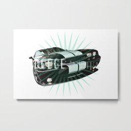 Dodge Challenger SRT Metal Print