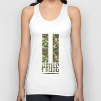 camo Tank Tops featuring PAUSE – Camo by PAUSE