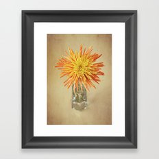Nature's Firework Framed Art Print