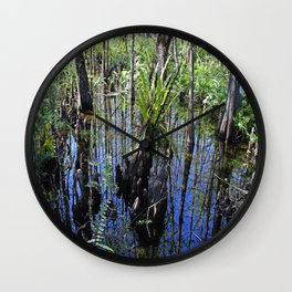 Womb of the Slough (horizontal) Wall Clock