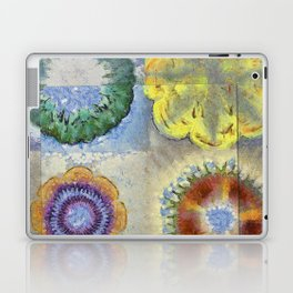 Recogitation Web Flowers  ID:16165-062317-11821 Laptop & iPad Skin