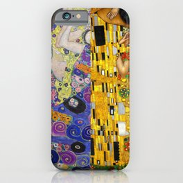 The Virgins vs The Kiss iPhone Case