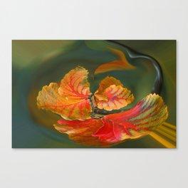 Autumn Whirl Canvas Print