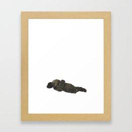 Counter Strike Death Portrait Framed Art Print