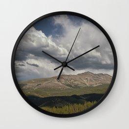 Cloud over Breckenridge Colorado Wall Clock