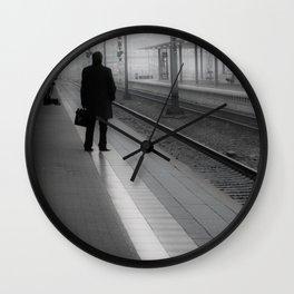 Mannheim Train Station Wall Clock