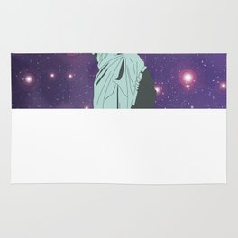 The Statue of Liberty in Universe Rug