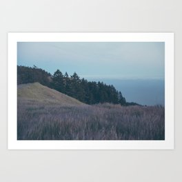 Mountain Side Views Art Print