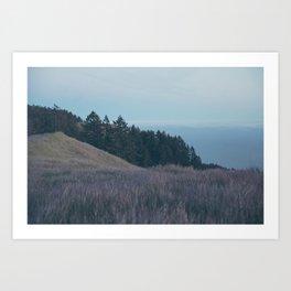 Mountain Side Views Art Print
