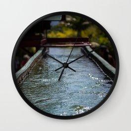 Shining Water Wall Clock