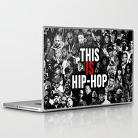 hip hop Laptop & iPad Skins featuring This is Hip Hop by TeamFleet Designs