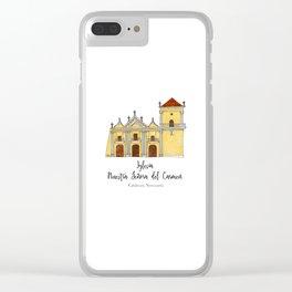 Iglesia del Carmen Clear iPhone Case