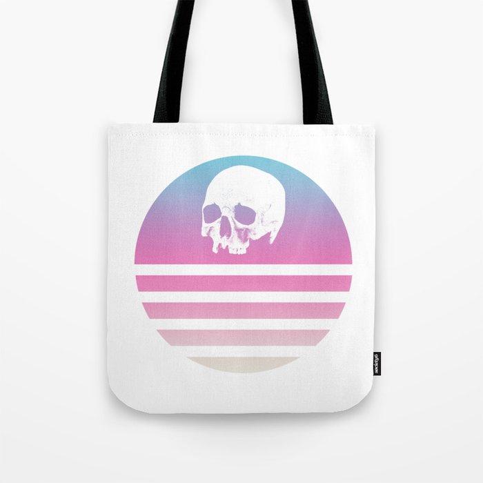 Retro Design Skull #1 Tote Bag