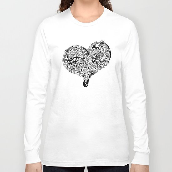 Heartfull Long Sleeve T-shirt