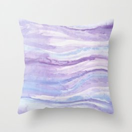 Abstract textile Throw Pillow
