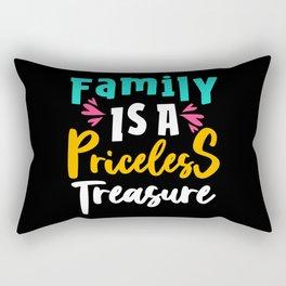 Family Is A Treasure Saying Rectangular Pillow