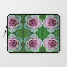 bed of roses: lilac Laptop Sleeve