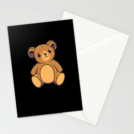 Teddy Bear Kids Shirt Stationery Cards