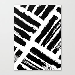 Abstract Monochrome 02 Canvas Print