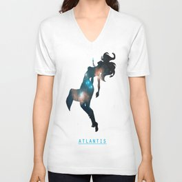 Space Princesses: Kida Unisex V-Neck