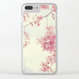 Dreams In Pink Clear iPhone Case