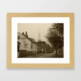 Ghost Church I Framed Art Print
