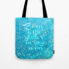 Glitter in my Veins (Photo of Glitter) Tote Bag