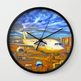 Iran Air Airbus A330 Pop Art Wall Clock