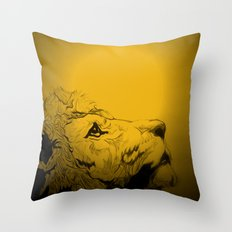 Dont Tame A King ~ Warmness Throw Pillow