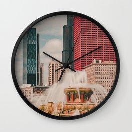 Fountain View Wall Clock
