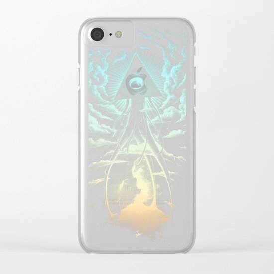 War Of The Worlds I. Clear iPhone Case