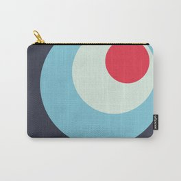 Parvati - Classic Colorful Abstract Minimal Retro 70s Style Dots Design Carry-All Pouch