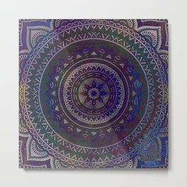 Spiritual Mandala Metal Print