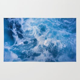 Abstract Water Rug